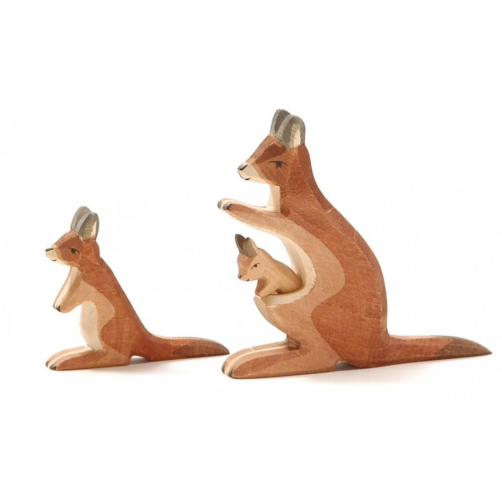 LOVE THIS! Ostheimer Kangaroo with Baby from Ostheimer - shop at littlewhimsy NZ