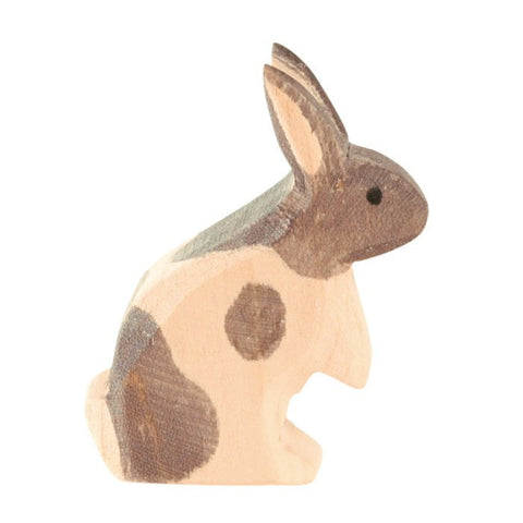 Ostheimer Bunny Rabbit Black and White Standing - little whimsy