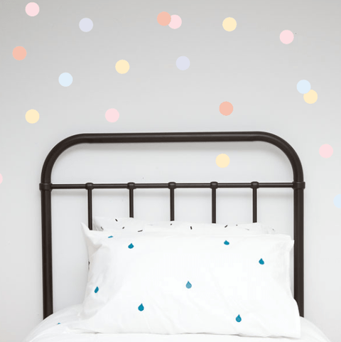 Wall Decals - Pastel Polka Dots - little whimsy