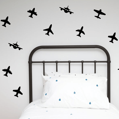 LOVE THIS! Wall Decals - Planes from 100 Percent Heart - shop at littlewhimsy NZ