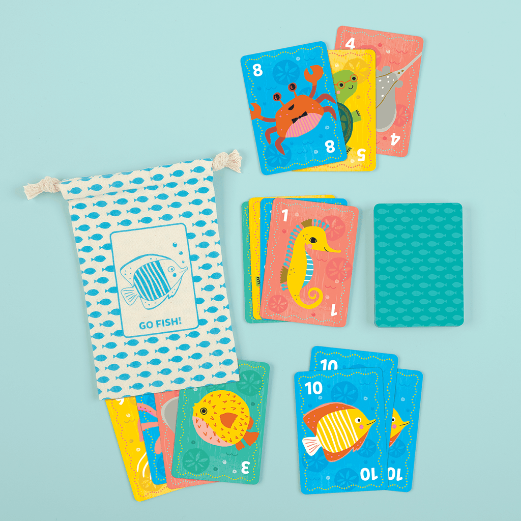 LOVE THIS! Go Fish! Playing Cards from Mud Puppy - shop at littlewhimsy NZ
