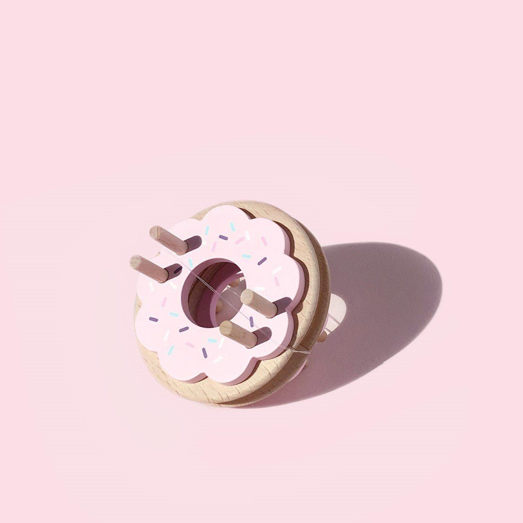 LOVE THIS! Donut Pom Maker – Strawberry from Pom Maker - shop at littlewhimsy NZ