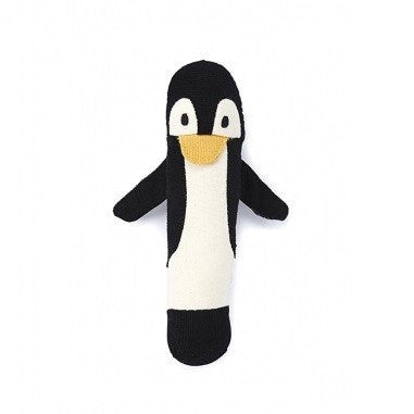 LOVE THIS! Penguin Baby Rattle from Nana Huchy - shop at littlewhimsy NZ