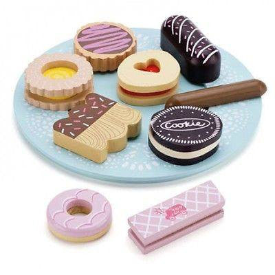 Le Toy Van Honeybake Biscuit and Plate Set - little whimsy - 1
