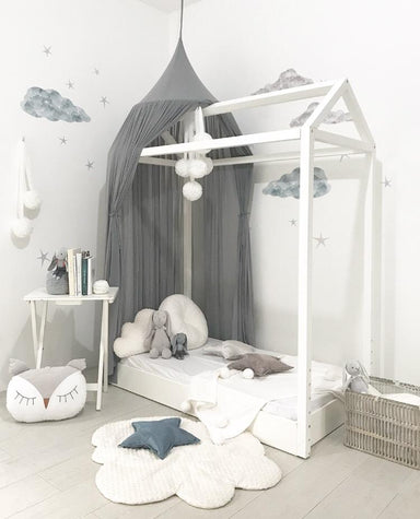 LOVE THIS! Spinkie Sheer Canopy In SMOKE from Spinkie - shop at littlewhimsy NZ