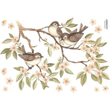 LOVE THIS! Wall Decals - Sparrows and Branches from Lilipinso - shop at littlewhimsy NZ