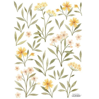 LOVE THIS! Wall Decals - Botanical Flowers from Lilipinso - shop at littlewhimsy NZ