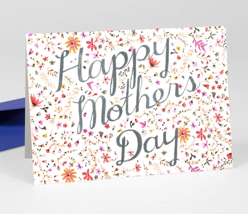LOVE THIS! Happy Mother's Day - Floral Card from Vikki Chu - shop at littlewhimsy NZ