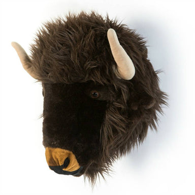 LOVE THIS! Alex the Buffalo - Wild & Soft Animal Head Large from Wild & Soft - shop at littlewhimsy NZ