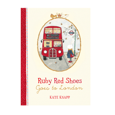 LOVE THIS! Ruby Red Shoes Goes to London from Harper Collins - shop at littlewhimsy NZ