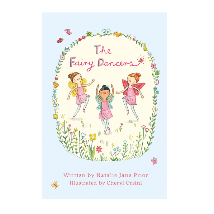 LOVE THIS! The Fairy Dancers from Harper Collins - shop at littlewhimsy NZ