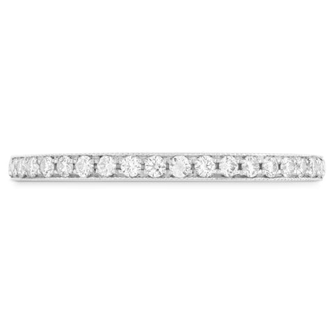 18KT Gold Deco Chic Diamond Band