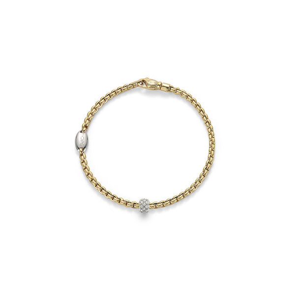 Gold Pave Diamond Bracelet