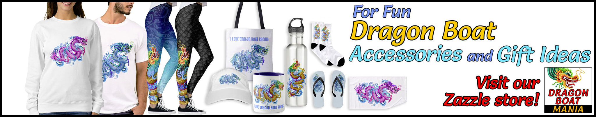 Dragon Boat Accessories and Gift Ideas.
