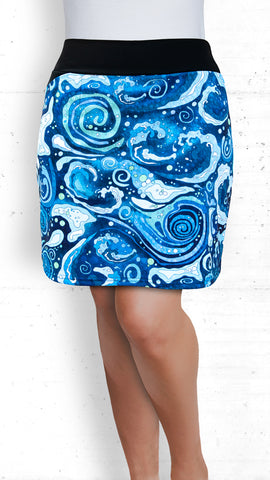 Skort - Dancing Waves (Style #5004)