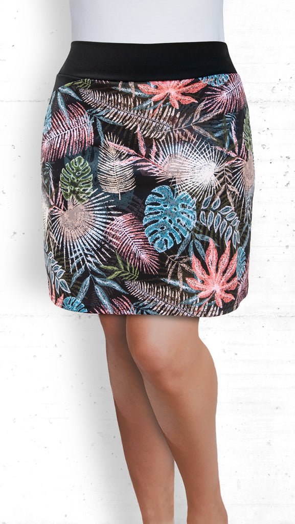 golf/tennis/travel skort - Tropical Ferns