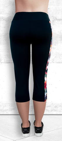 Capris with Atumn Maple Leaves