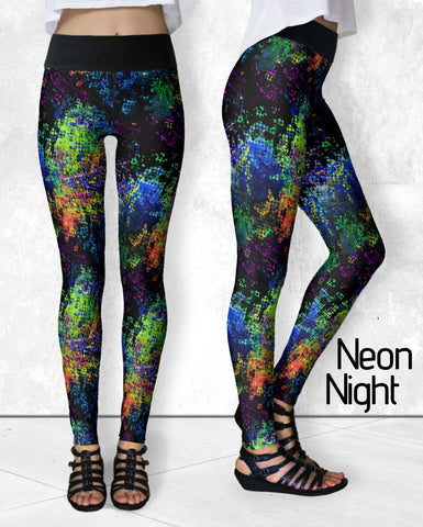Leggings - Neon Night