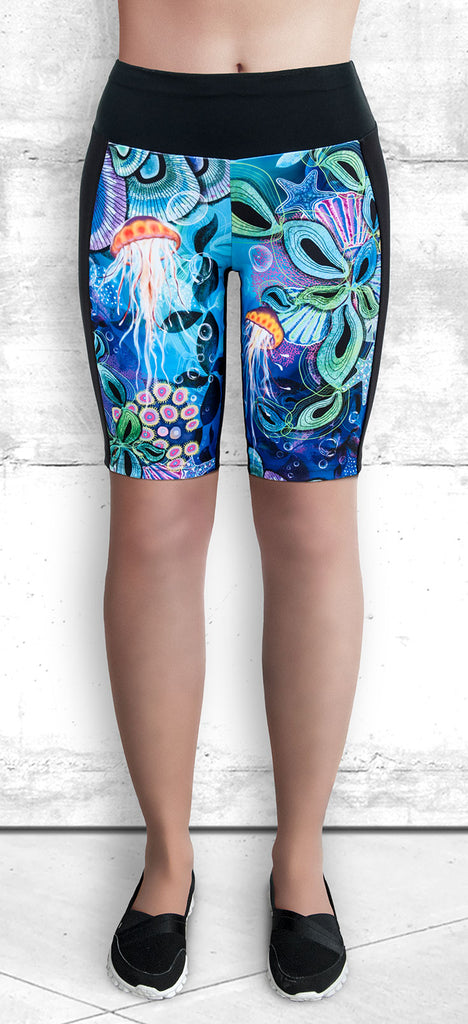 Training Shorts - Ocean Dreams
