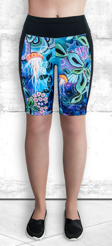 Training Shorts - Ocean Dream (TS-3024)