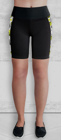 Pickleball Training Shorts with side pocket - front view