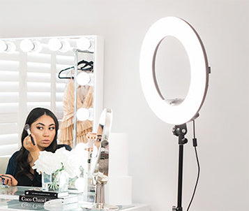 Vanity Makeup Mirror With Lights In Australia Glamour
