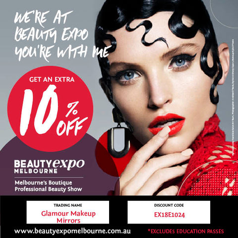 Beauty Expo Melbourne 2018 Glamour Makeup Mirrors