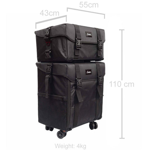 Beauty Lux Travel Case Dimensions