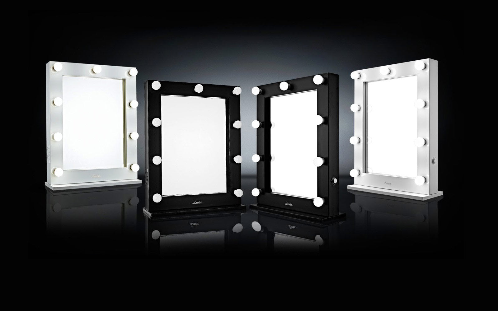 Lighted Makeup Mirrors Illuminated Hollywood Vanity Australia Fluro Light Wiring Diagram Perfect Starts With Lighting