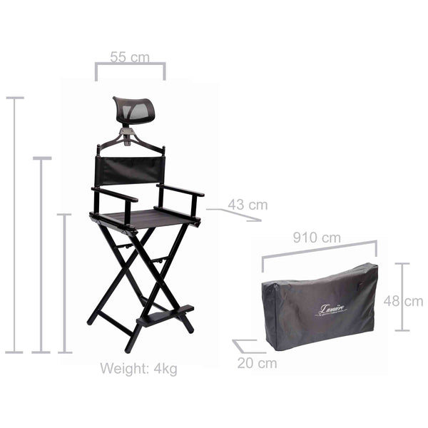 Studio makeup Chair Dimensions