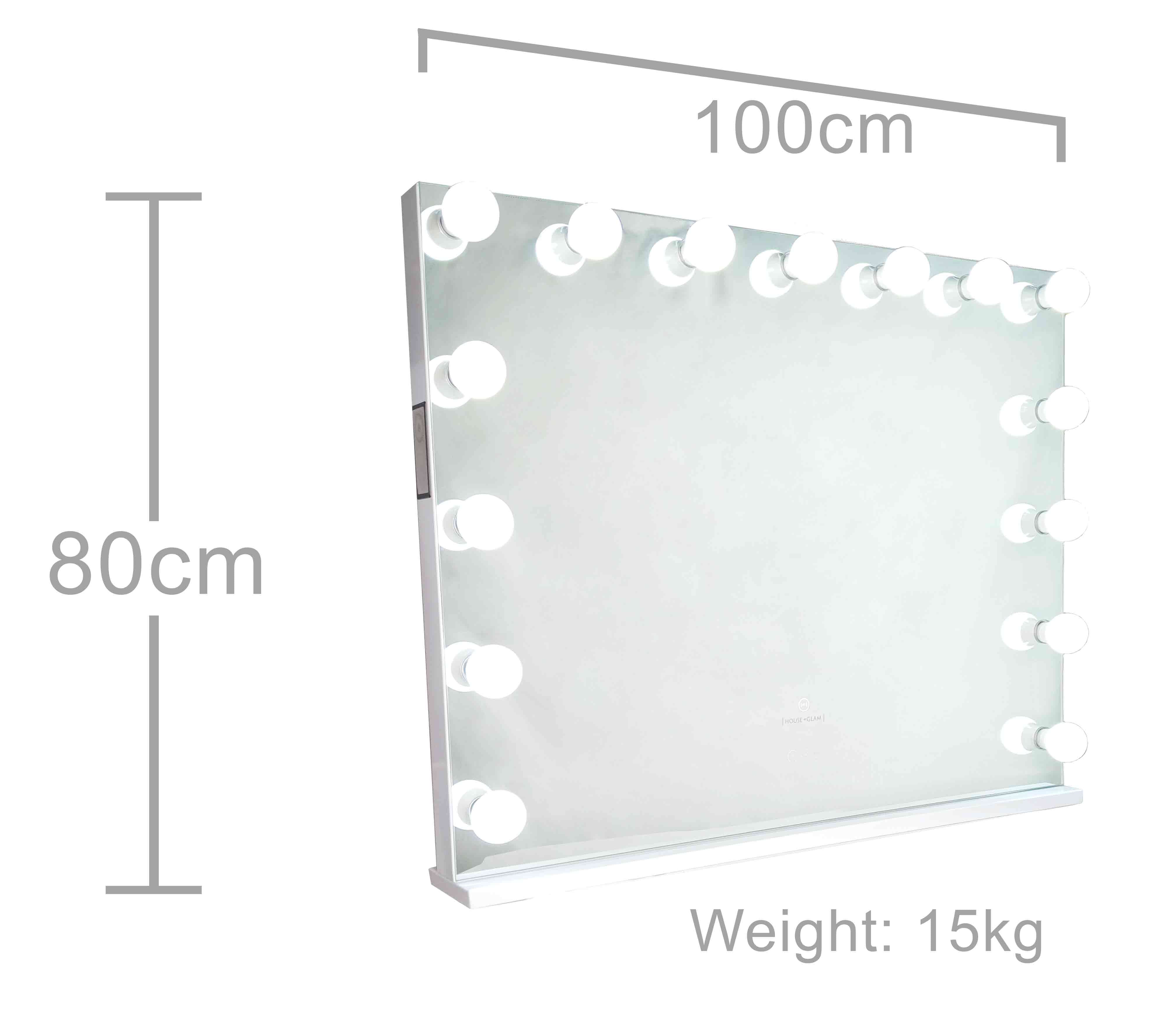 The Vogue Vanity Dimensions