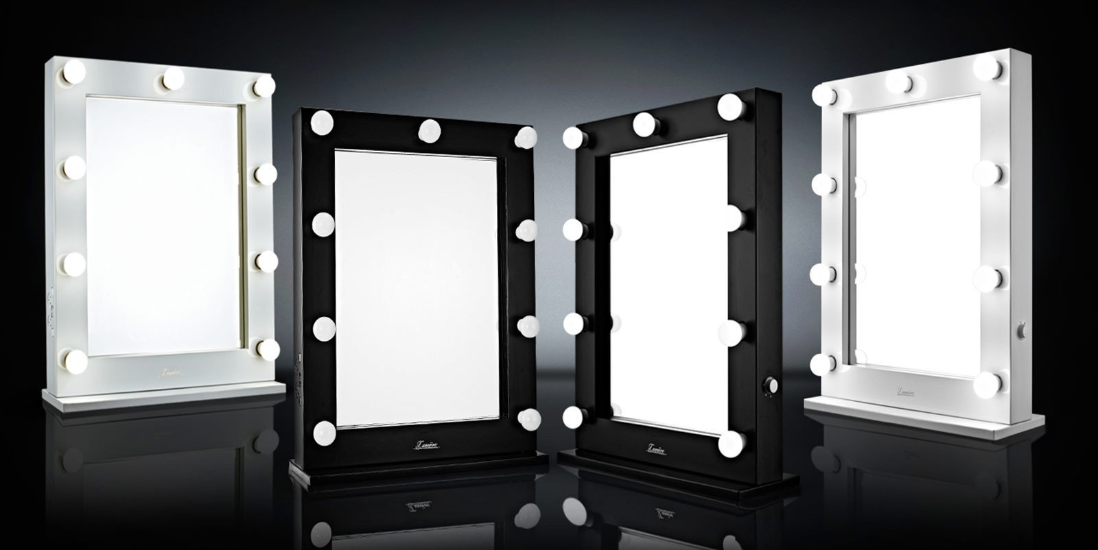 Lighted Makeup Mirrors Illuminated Hollywood Vanity