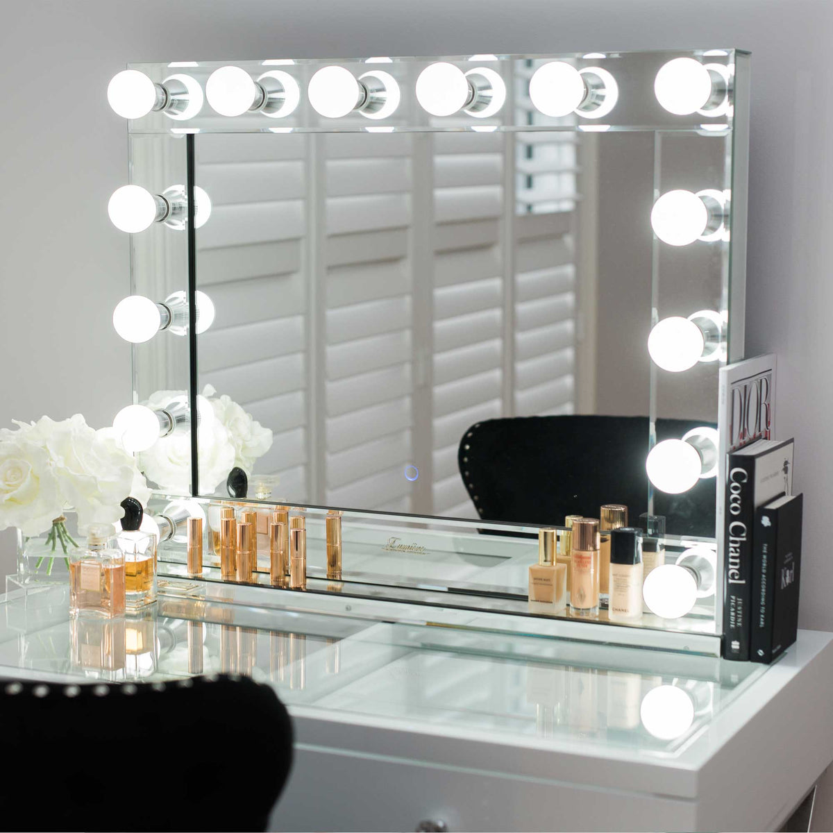 Belle Of The Ball Led Makeup Mirror Glamour Makeup Mirrors
