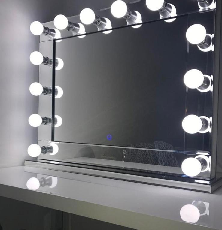 Belle Of The Ball Lighted Makeup Mirror Glamour Makeup