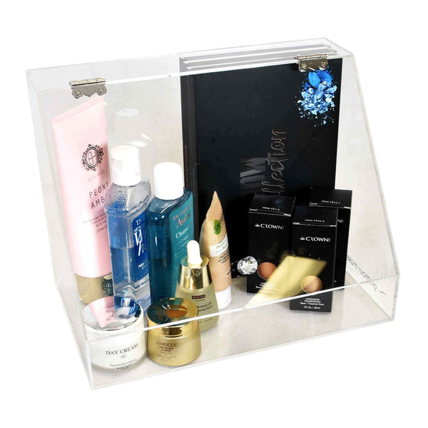 COSMETICS PIT-STOP Makeup Organiser by Glamour Makeup Mirrors 2
