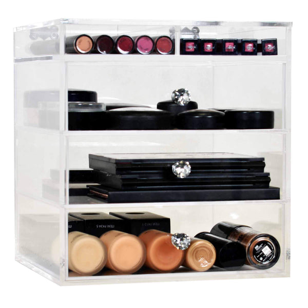 ESSENTIALS CUBE - Makeup Organiser by Glamour Makeup Mirrors 2