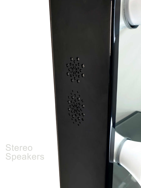 Glamster Pro | with Bluetooth speakers - Black