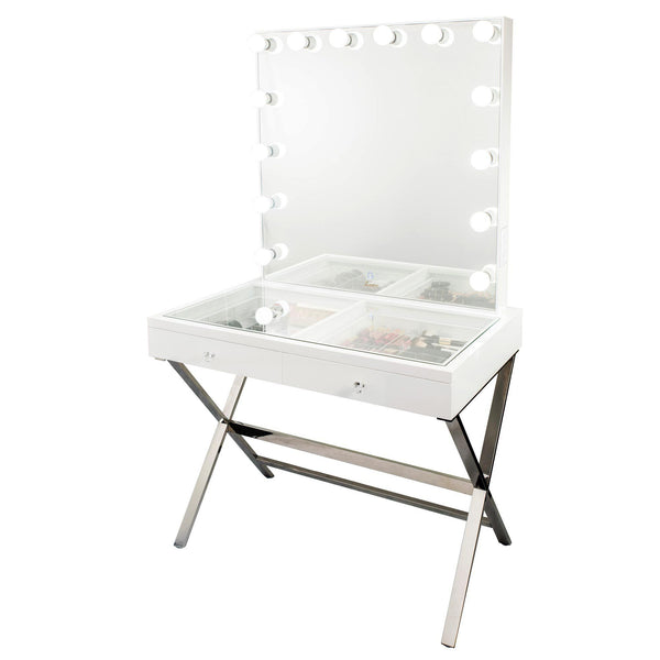 Glamour Studio Vanity Makeup Table by Glamour Makeup Mirrors 4