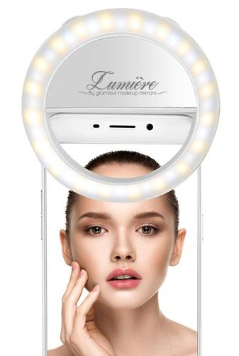Glow Pro Selfie Ring Light Glamour Makeup Mirrors