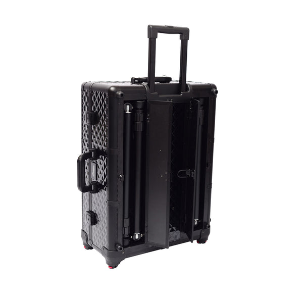 Glow'N'Go Chique Pro Travel Case | Cosmetic Travel Case | Glamour Makeup Mirrors