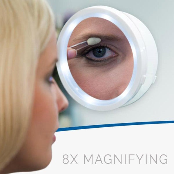 Star LED 8x Magnifying LED Mirror | Glamour Makeup Mirrors 5
