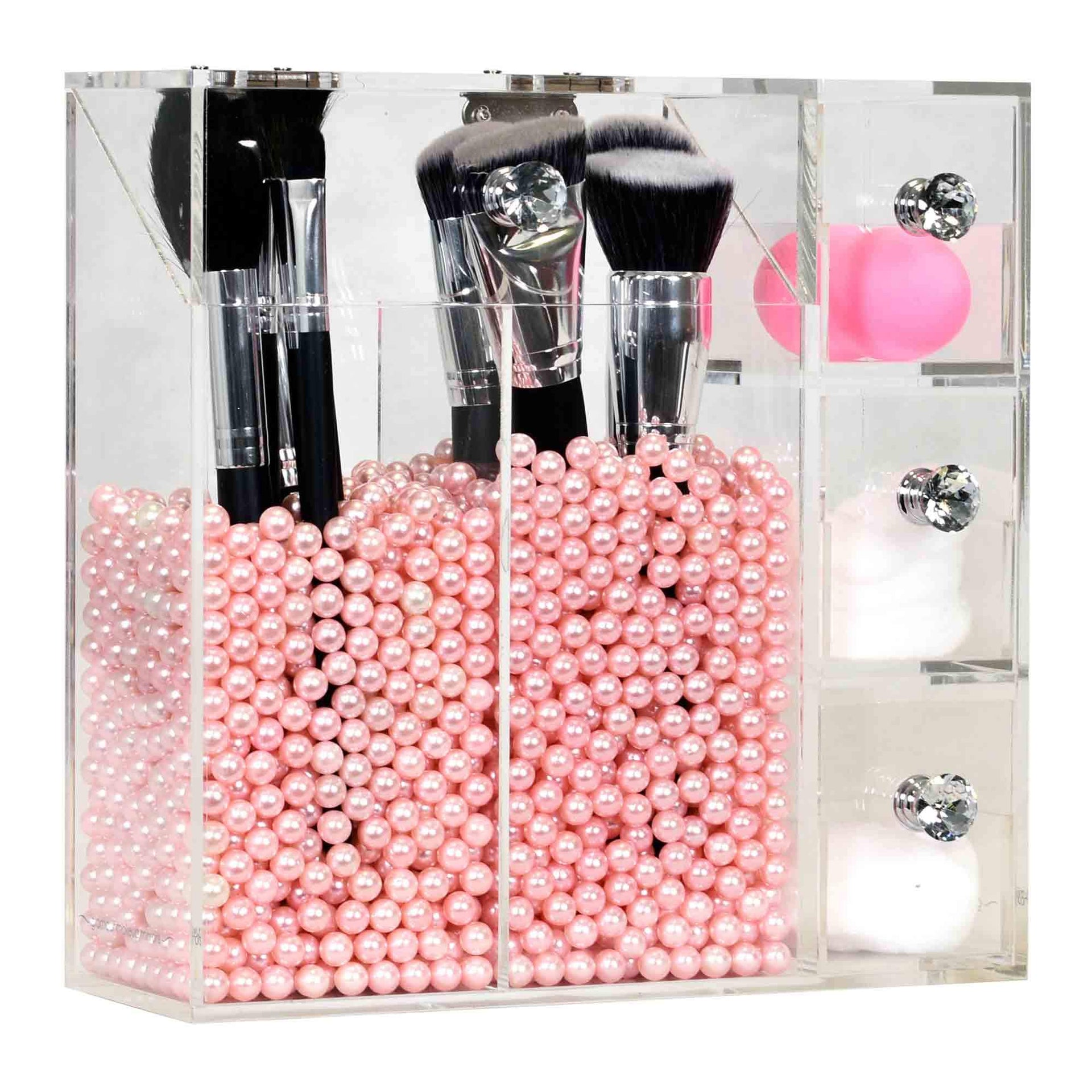 Studio Brush Holder Makeup Organiser by Glamour Makeup Mirrors