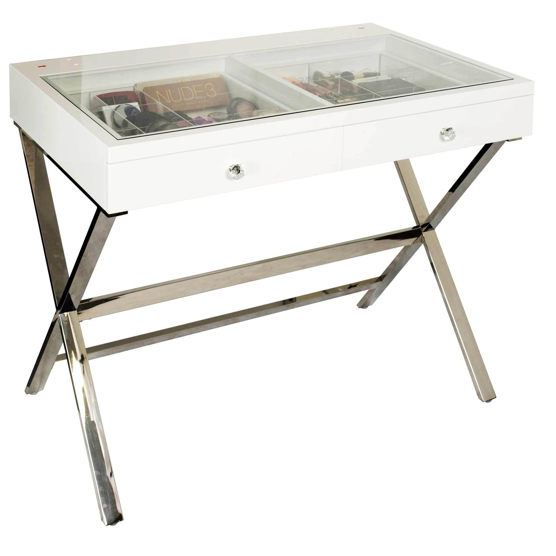 Glamour Studio Vanity Makeup Table by Glamour Makeup Mirrors
