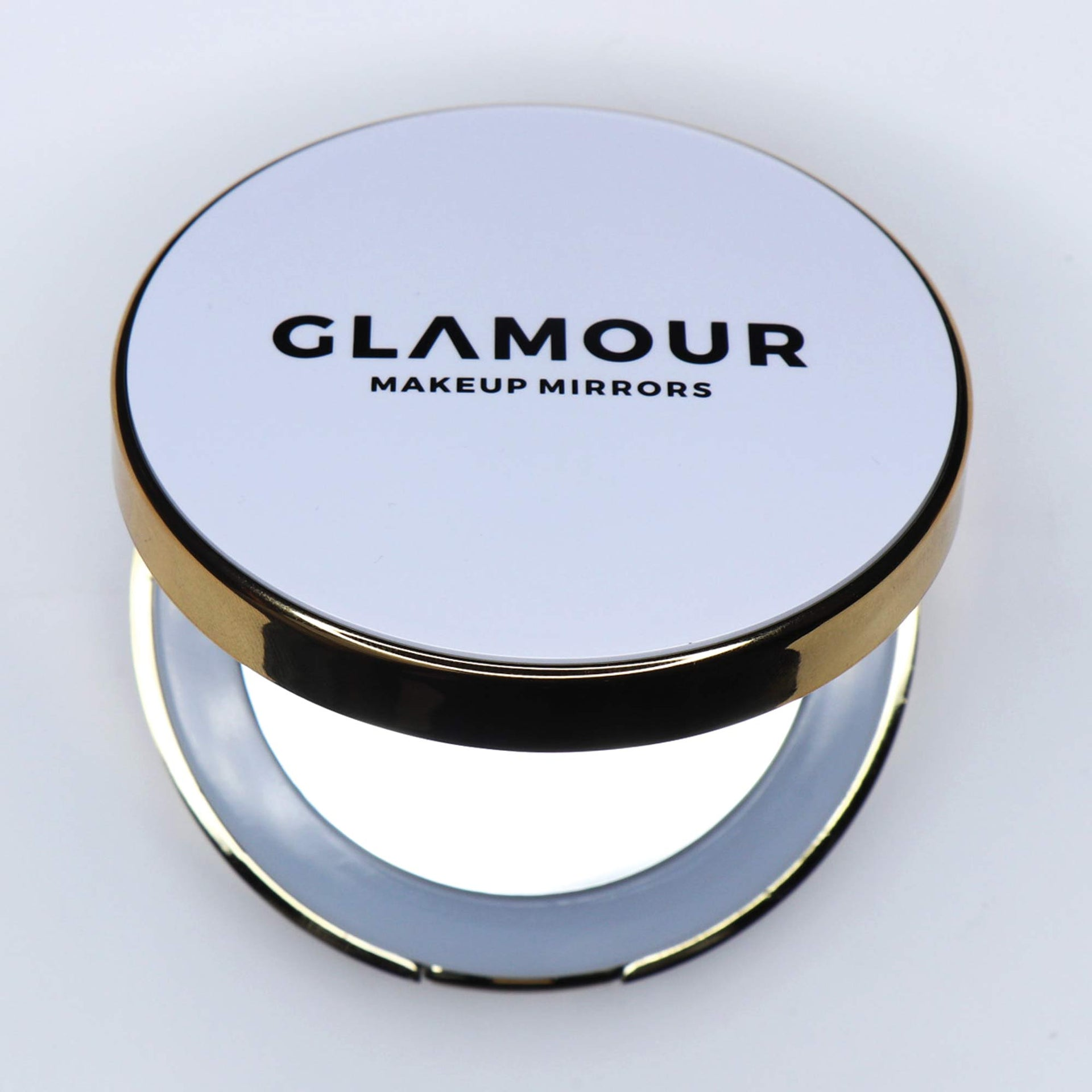 The Compact - Circle | LED Compact Mirror | Glamour Makeup Mirrors