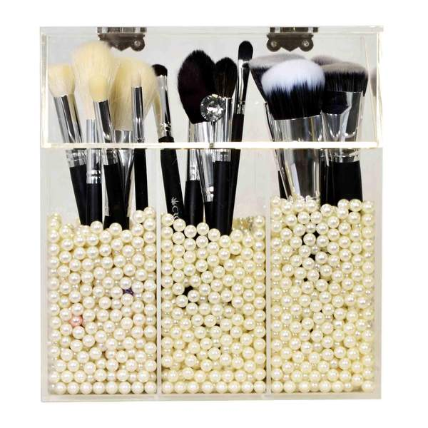 Triple Brush Holder