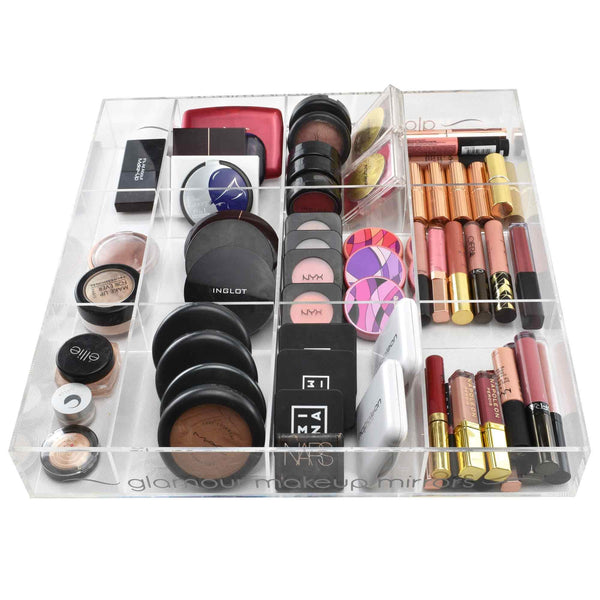Glamster Vanity Makeup Organiser Tray | Glamour Makeup Mirrors