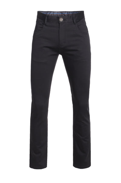 Men's Black Slim Premium Quality Pants