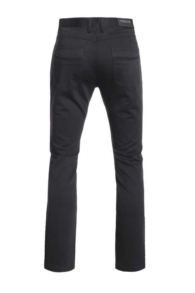 Black Slim Premium Quality Pants (1120)
