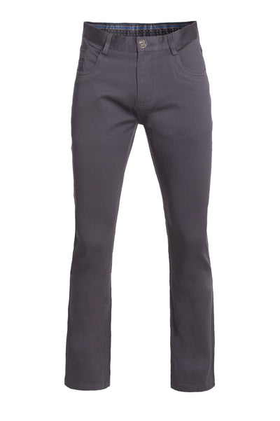 Men's Charcoal Slim Premium Quality Pants
