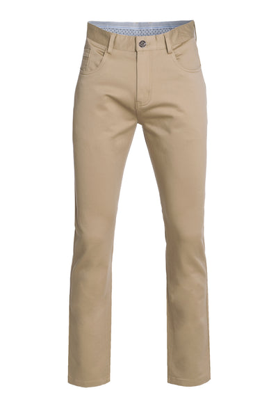 Men's Khaki Slim Premium Quality Pants